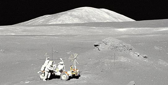 Apollo 17 astronaut Harrison Schmitt